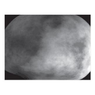 Computer Model of the Asteroid Vesta Postcard