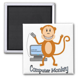 Computer Monkey magnet
