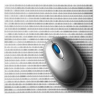 Computer mouse photo print