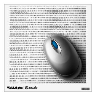 Computer mouse wall decal