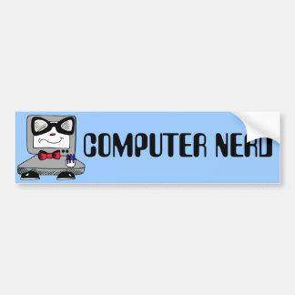Computer Nerd Geek Bumper Sticker