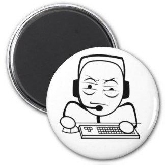 Computer Nerd Internet Meme Refrigerator Magnets