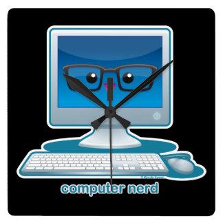 Computer Nerd Wallclocks