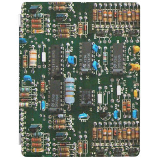 Computer Printed Circuit Board iPad Cover