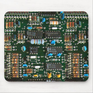 Computer Printed Circuit Board Mouse Pad