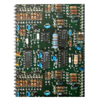 Computer Printed Circuit Board Notebook