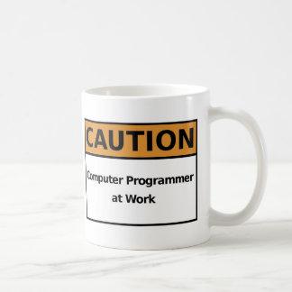 Computer Programmer at Work Coffee Mug
