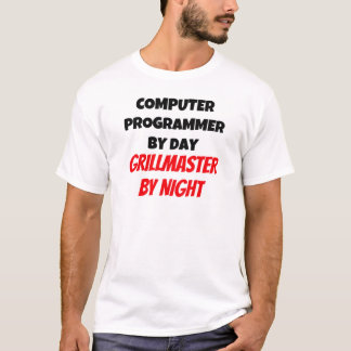 Computer Programmer by Day Grillmaster by Night T-Shirt