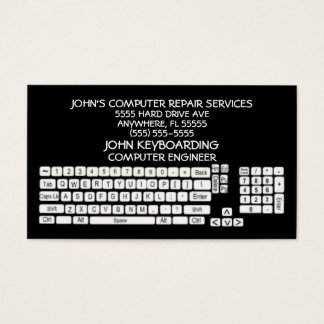 Custom Computer Repair Business Cards | Zazzle.ca