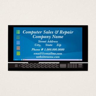 Computer Sales & Repair Business Card