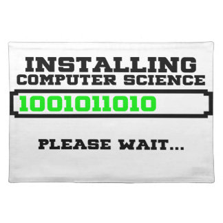 computer science degree placemat