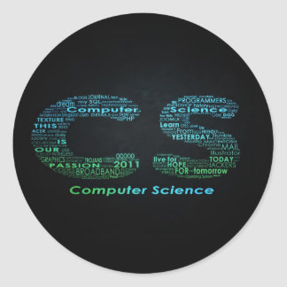 Computer Science Sticker Collectibles