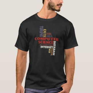 Computer Science T-shirt on Dark