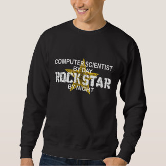 Computer Scientist Rock Star Sweatshirt