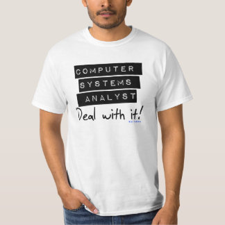 Computer Systems Analyst Fan Tee