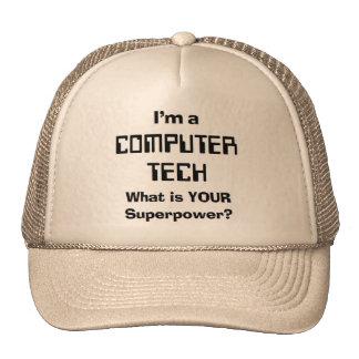 computer teach trucker hat