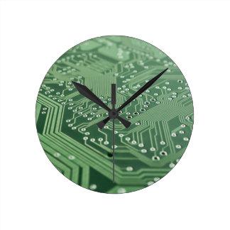 Computer Techie Acrylic Wall Clock