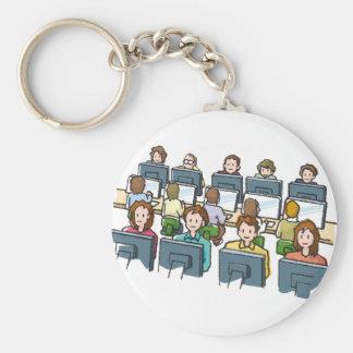 Computer Users Keychain