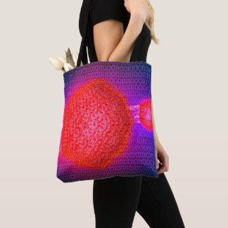 Computer Virus Tote Bag