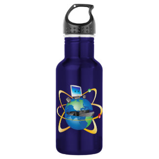 Computer World 532 Ml Water Bottle