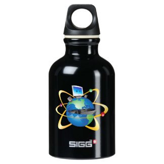 Computer World Water Bottle