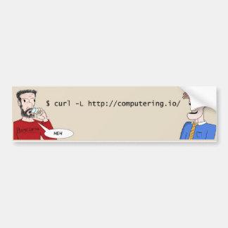 Computering.io web comic bumber sticker bumper sticker