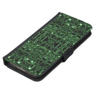 Computerized Samsung Galaxy S5 Wallet Case