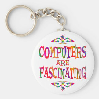 Computers are Fascinating Keychain