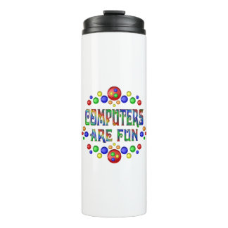 Computers are Fun Thermal Tumbler