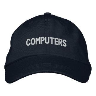 Computers Hat II Embroidered Baseball Cap