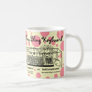 Computious & DotComplicated(TM) Bling-Bling Coffee Mug