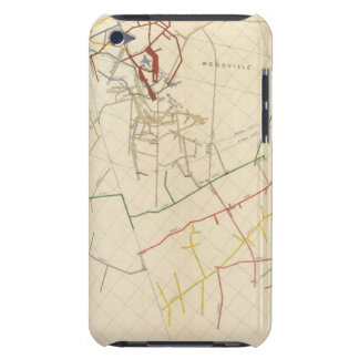 Comstock Mine Maps Number VIII Barely There iPod Cases