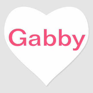 comstumized Gabby stickers