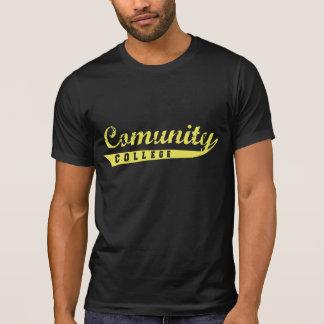 Comunity dark tee shirt