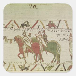 Conan, Duke of Brittany Square Sticker