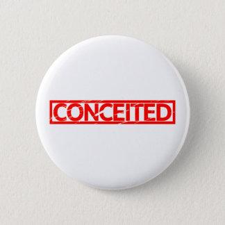 Conceited Stamp 2 Inch Round Button