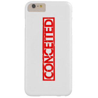 Conceited Stamp Barely There iPhone 6 Plus Case