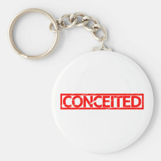 Conceited Stamp Keychain