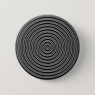 Concentraspiral 2 Inch Round Button