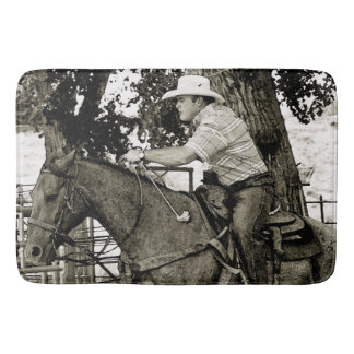 Concentration Times Two Ranching Bath Mat