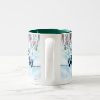 'Concentration' Two-Tone Mug