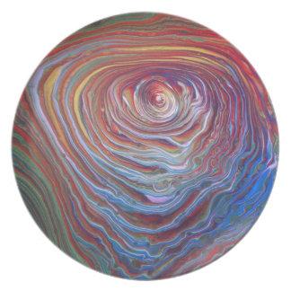 Concentric artwork plate