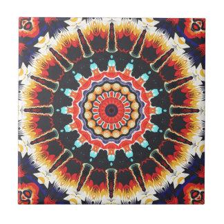 Concentric Balance of Colors Ceramic Tiles