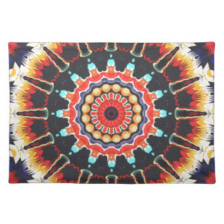 Concentric Balance of Colors Placemats