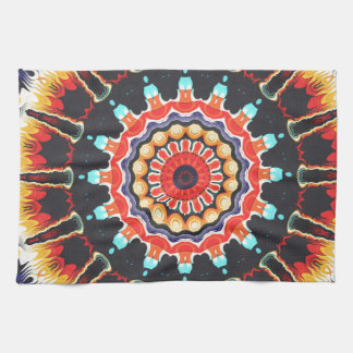 Concentric Balance of Colors Towels