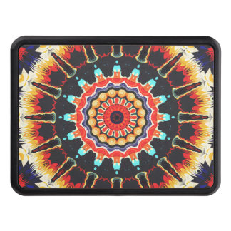 Concentric Balance of Colors Trailer Hitch Cover