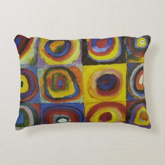 Concentric Circles, 1913 Decorative Pillow