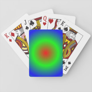 Concentric Circles #22 Playing Cards