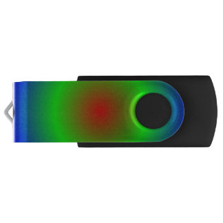 Concentric Circles #22 USB Flash Drive