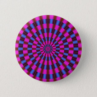 Concentric Circles 2 Inch Round Button